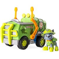 Paw Patrol Jungle Rescue Rocky's Jungle Truck Vehicle with Figure