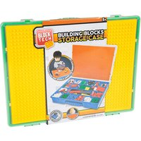 Block Tech Building Blocks Storage Case - Green - Building Gifts