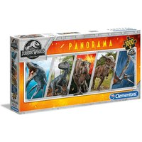 Clementoni - Jurassic World Panorama Puzzle 1000pc.