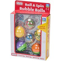 Fun Time Roll & Spin Bubble Balls - Fun Gifts