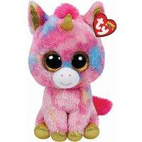 Ty Beanie Boo Buddy - Fantasia the Unicorn Soft Toy - Beanie Gifts