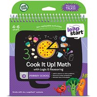 LeapFrog Leapstart Level 3 Activity Book - Cook it Up! Math - Cook Gifts