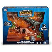 Awesome Animals Tyrannosaurus Rex Dinosaur Adventure Playset - Adventure Gifts