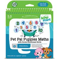 LeapFrog Leapstart Level 2 Activity Book - Pet Pal Puppies Maths - Puppies Gifts