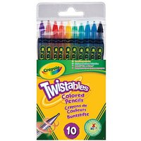 Crayola Twistable Pencils - 10 Pieces