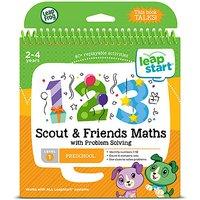 LeapFrog Leapstart Level 1 Activity Book - Scout & Friends Maths - Maths Gifts