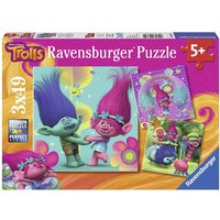 Ravensburger Jigsaw Puzzle - Trolls 3 x 49 Pieces - Jigsaw Puzzle Gifts
