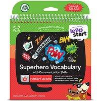 LeapFrog Leapstart Level 4 Activity Book - Superhero Vocabulary - Leapfrog Gifts