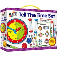 James Galt Tell the Time Set - Galt Gifts
