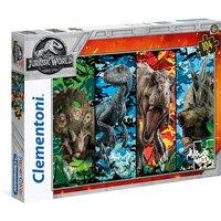 Clementoni - Supercolor Jurassic World Puzzle 104pc.