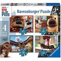 Ravensburger The Secret Life of Pets 4 in a Box Puzzles - Puzzles Gifts
