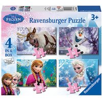 Ravensburger Disney Frozen 4 in a Box Puzzle - Ravensburger Gifts