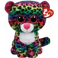 Ty Beanie Boo Buddy - Dotty the Leopard Soft Toy - Thetoyshopcom Gifts