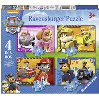 Ravensburger 4 in a Box Jigsaw Puzzle - Paw Patrol - Jigsaw Puzzle Gifts