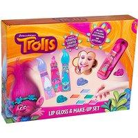 DreamWorks Trolls Lip Gloss & Make-Up Set - Makeup Gifts