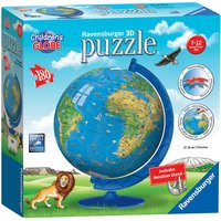 Ravensburger Childrens World Globe 3D Jigsaw Puzzle - 180pc - Jigsaw Puzzle Gifts
