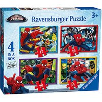 Ravensburger 4 in a Box Puzzles - Spider-Man - Puzzles Gifts