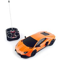 1:16 Remote Control Orange Lamborghini Vehicle - Remote Control Gifts