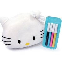 Hello Kitty Colour Me Soft Toy with Markers - Hello Kitty Gifts