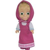 Masha and The Bear Figure - Masha with Pink Dress - Dress Gifts