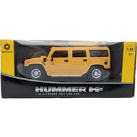 Hummer Friction Car - Yellow - Hummer Gifts
