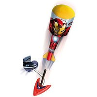 Marvel Avengers Sky Foam Stomp Rocket With Launch Base