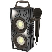 Portable Bluetooth Karaoke With Microphone - Black