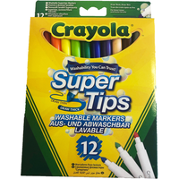 Crayola Supertips Pens - 12 Pack - Crayola Gifts