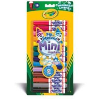Crayola - 14 Pip-Squeaks Mini Markers - Crayola Gifts