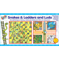 Galt Snakes & Ladders and Ludo - Galt Gifts