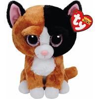 Ty Beanie Boo Buddy - Tauri the Cat Soft Toy