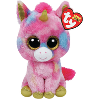Ty Beanie Boo Buddy 24cm Soft Toy - Fantasia The Unicorn