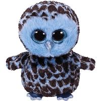 Ty Beanie Boo Buddy 24cm Soft Toy - Yago the Blue Owl