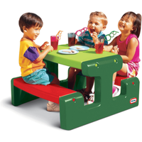 Little Tikes Junior Picnic Table - Green - Little Tikes Gifts