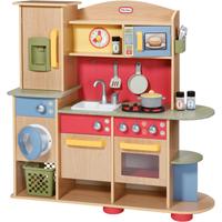 Little Tikes Cookin Creations Premium Wood Kitchen - Little Tikes Gifts