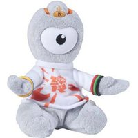 Olympics Wenlock Cuddly Collectible 16cm Soft Toy (Styles Vary) - Cuddly Gifts