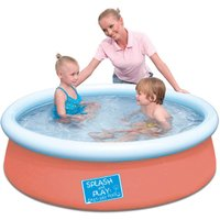 Click to view product details and reviews for My First Fast Set 5ft Pool Orange.