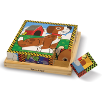 Melissa & Doug Pets Cube Puzzle - Pets Gifts