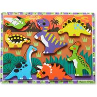 Melissa and Doug Chunky Puzzle - Dinosaurs
