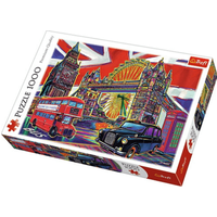 Trefl London Landmarks Jigsaw Puzzle - 1000 Pieces - Jigsaw Puzzle Gifts