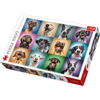 Trefl Funny Dog Portraits Jigsaw Puzzle - 1000 Pieces - Jigsaw Puzzle Gifts