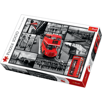 Trefl London Collage Jigsaw Puzzle - 1000 Pieces - Jigsaw Puzzle Gifts