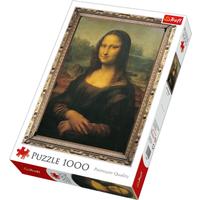 Trefl Mona Lisa Jigsaw Puzzle - 1000 Pieces - Jigsaw Puzzle Gifts