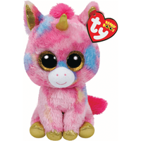 Ty Beanie Boos - Fantasia the Unicorn Soft Toy - Ty Beanie Boos Gifts
