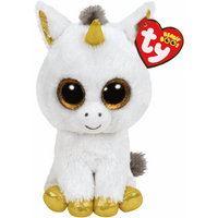 Ty Beanie Boos - Pegasus the Unicorn Soft Toy - Ty Beanie Boos Gifts