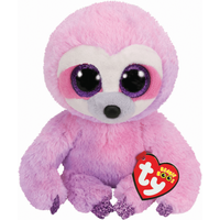 Ty Beanie Boo 15cm Soft Toy - Dreamy Purple Sloth