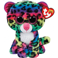 Ty Beanie Boos - Dotty the Leopard Soft Toy - Ty Beanie Boos Gifts