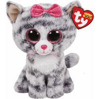 Ty Beanie Boos - Kiki the Cat Soft Toy - Ty Beanie Boos Gifts