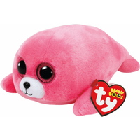 Ty Beanie Boos - Pierre the Pink Seal Soft Toy - Ty Beanie Boos Gifts