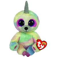 Ty Beanie Boo 15cm Soft Toy - Cooper The Uni-Sloth